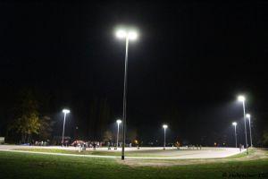 Einweihung Flutlicht 03.11.2018