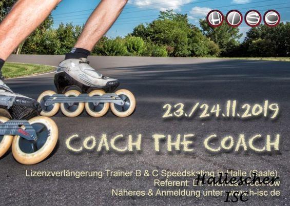 Coach the Coach - Lizenzverlängerung für Trainer